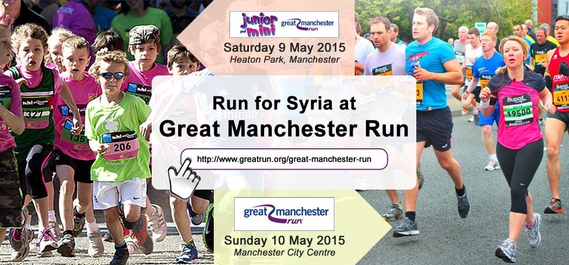 """Run for Syria"" Great Manchester Run 2015"