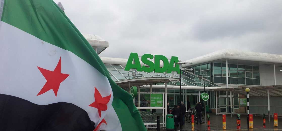 Children Volunteers Needed for Syria Fundraiser at ASDA