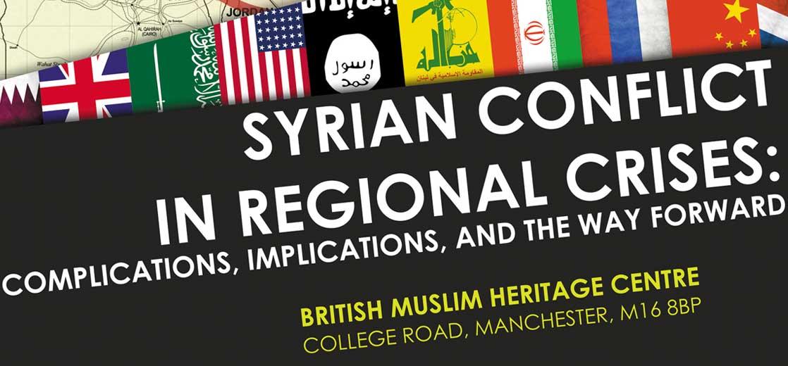 Syrian Conflict in Regional Crises