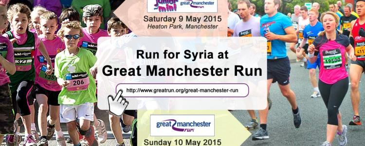 """Run for Syria"" Great Manchester Run 2015"