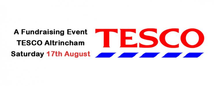Fundraising Event at TESCO Altrincham