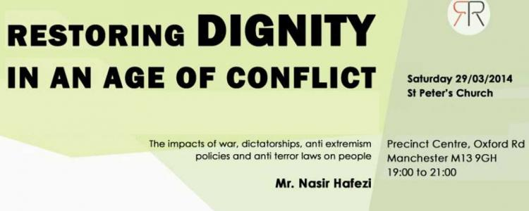 Restoring Dignity in an Age of Conflict