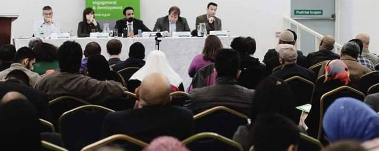RR attended the election hustings for Manchester Withington area
