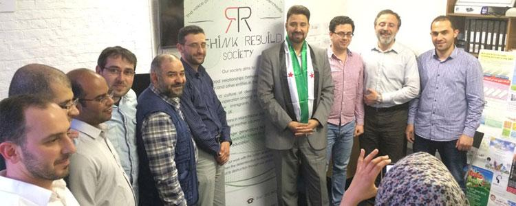 Afzal Khan visits RR office