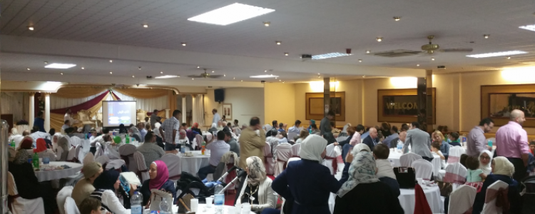 Eid ul-Fitr Dinner Smashing Success