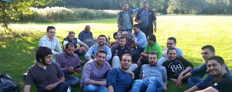 Shawrma Lunch at Eid Alfitr