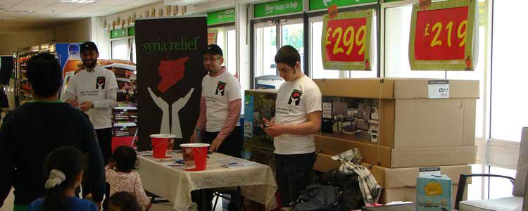 A successful fundraiser at ASDA Longsight superstore in Manchester