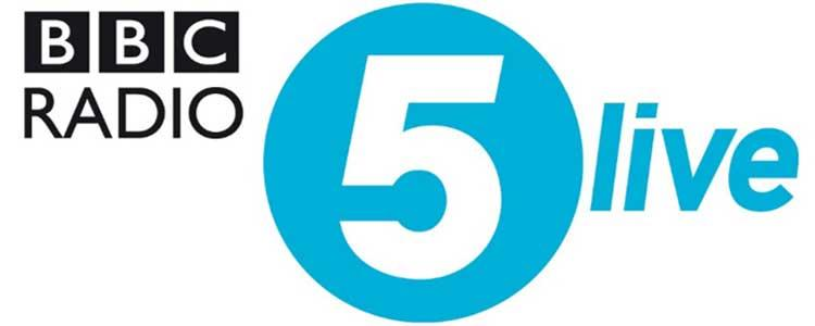 RR Hosted on BBC Radio 5 Live