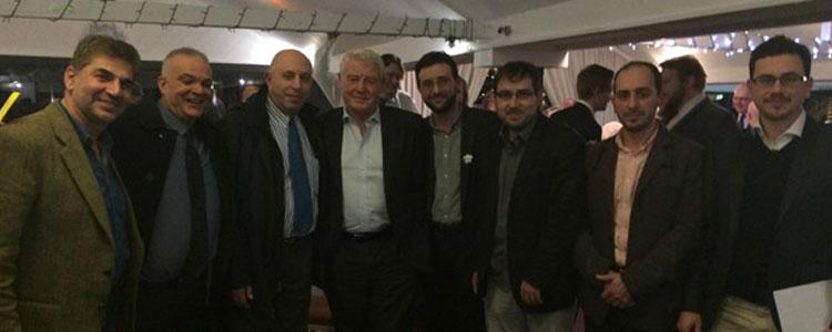 Meeting with Sir Paddy Ashdown