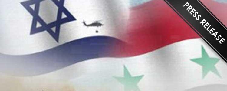 British Syrians Condemn Israeli Aggression on Syrian Territory