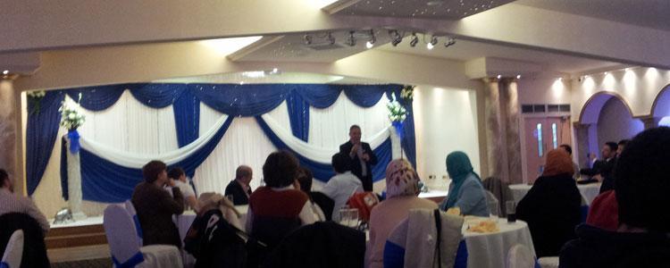 A social dinner with Mr Walid Saffour