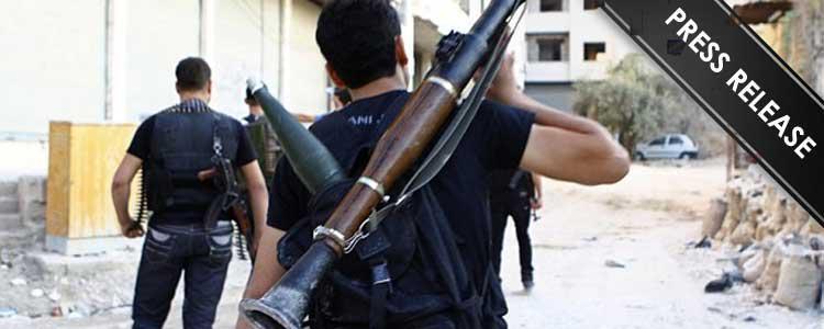 Statement regarding joining fighting in Syria