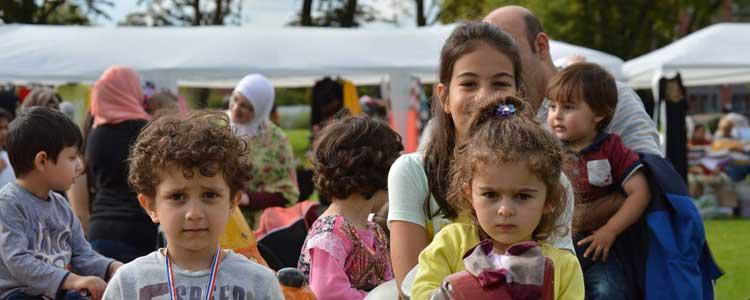 Soaring success at the Syrian Family Fun Day
