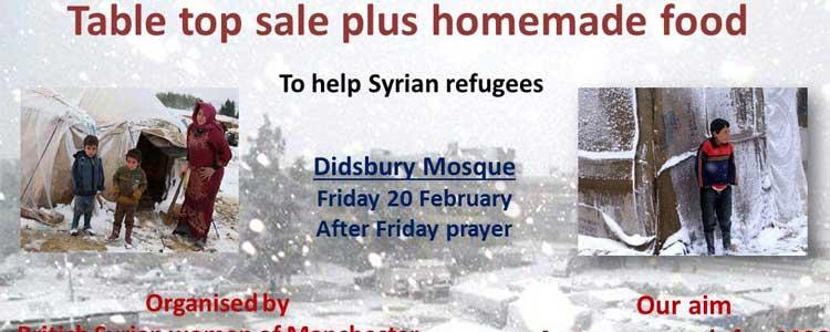 Syrian Women Organise a Charity Event